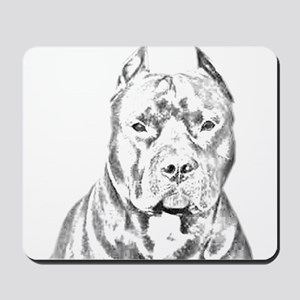Pit Bull Head Mousepad