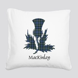 Thistle - MacKinlay Square Canvas Pillow