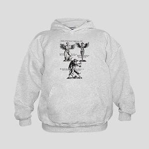 Vintage Monster Design Sweatshirt