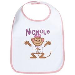Little Monkey Nichole Bib