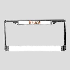 Bruce Fiesta License Plate Frame