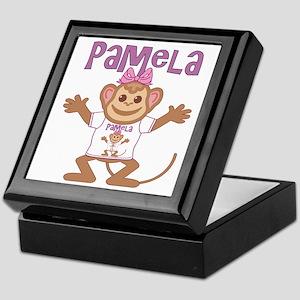 Little Monkey Pamela Keepsake Box
