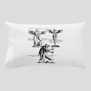 Vintage Monster Design Pillow Case