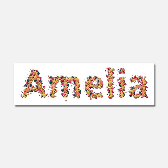 Amelia Fiesta 10x3 Car Magnet