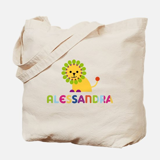 Alessandra the Lion Tote Bag