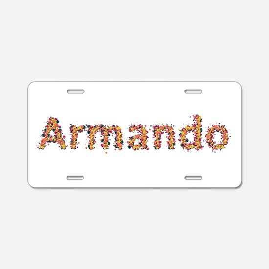 Armando Fiesta Aluminum License Plate