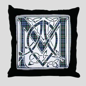 Monogram - MacKinlay Throw Pillow