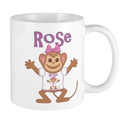 Little Monkey Rose Mug