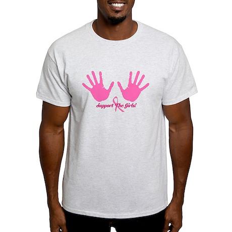 Cancer Support The Girls Light T-Shirt