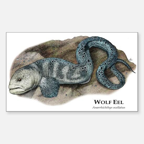Wolf Eel Sticker (Rectangle)