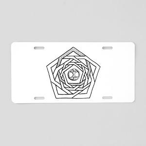 Erisian Mandala Chaos Aluminum License Plate