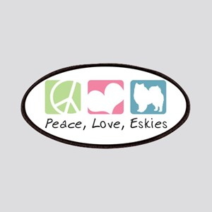 Peace, Love, Eskies Patches