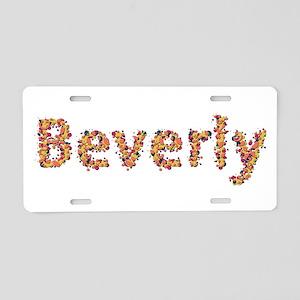 Beverly Fiesta Aluminum License Plate