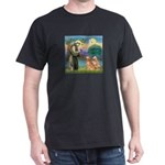 St Francis - 2 Goldens Dark T-Shirt