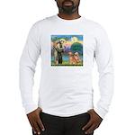 St Francis - 2 Goldens Long Sleeve T-Shirt