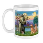 St Francis - 2 Goldens Mug