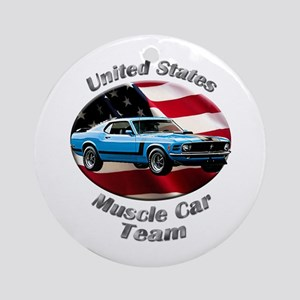Ford Mustang Boss 302 Ornament (Round)