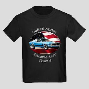 Ford Mustang Boss 302 Kids Dark T-Shirt
