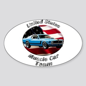 Ford Mustang Boss 302 Sticker (Oval 10 pk)