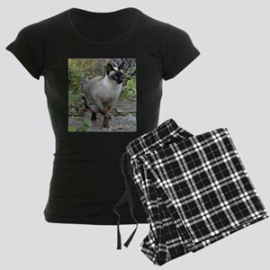 Siamese Cat Women's Dark Pajamas