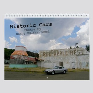Historic Cars Wall Calendar
