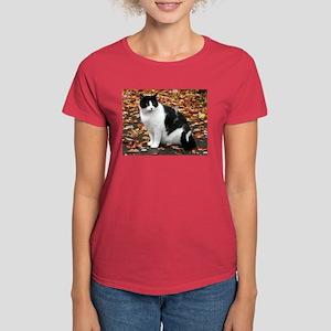 Tuxedo Kitty Women's Dark T-Shirt