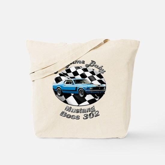 Ford Mustang Boss 302 Tote Bag