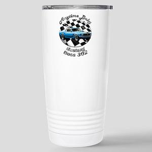 Ford Mustang Boss 302 Stainless Steel Travel Mug