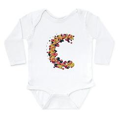 C Fiesta Long Sleeve Infant Bodysuit