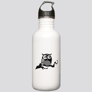 Cute Graphic Owl Stainless Water Bottle 1.0L
