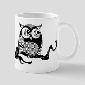 Cute Graphic Owl Mug