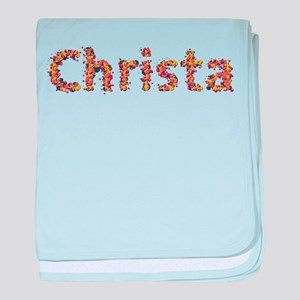 Christa Fiesta baby blanket
