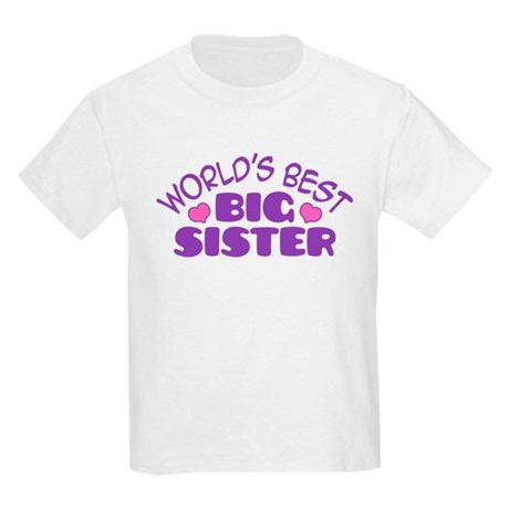 Big Sister Kids Light T-Shirt