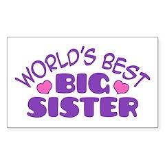 Big Sister Sticker (Rectangle)