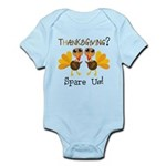 Vegan Thanksgiving Infant Bodysuit