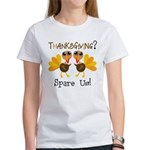 Vegan Thanksgiving Women's T-Shirt