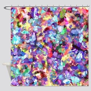 Painting With Color Shower Curtain