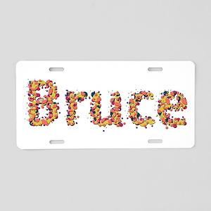 Bruce Fiesta Aluminum License Plate