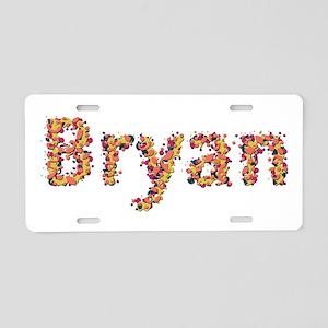 Bryan Fiesta Aluminum License Plate