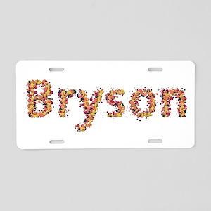 Bryson Fiesta Aluminum License Plate