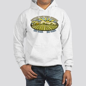 Support Your Local Farmers Hooded Sweatshirt