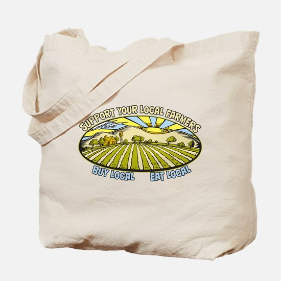 Support Your Local Farmers Tote Bag