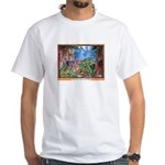 Saving for Winter White T-Shirt