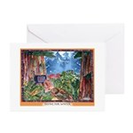 Saving for Winter Greeting Cards (Pk of 10)