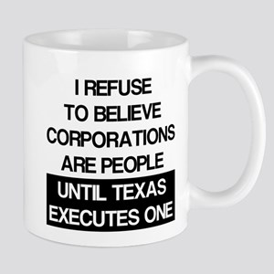 Corporations Are People Mug