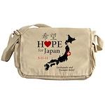 Hope For Japan Messenger Bag