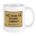 Will Work Inflation 2 Mug