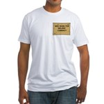 Will Work Inflation 2 Fitted T-Shirt
