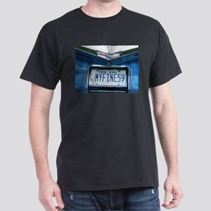 Men's My fine 59 New York Car Dark T-Shirt