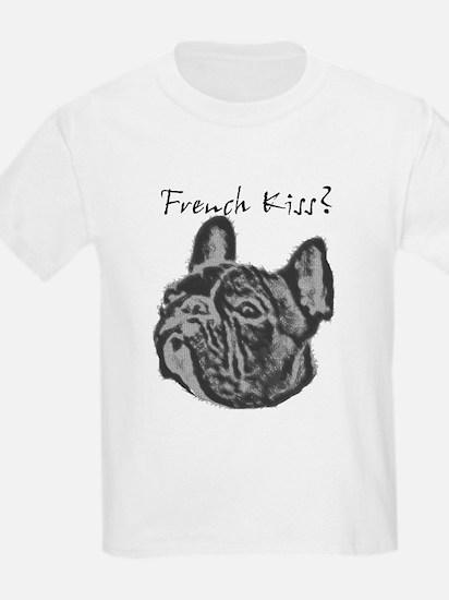 Funny Dog kiss T-Shirt